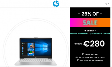 Laptop Tienda Homepage Image
