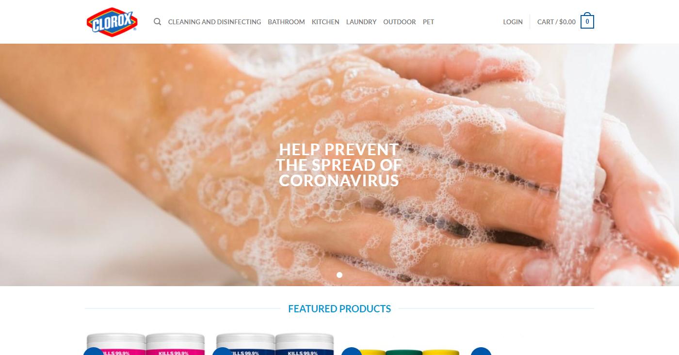 Cloroxoz.com Homepage Image