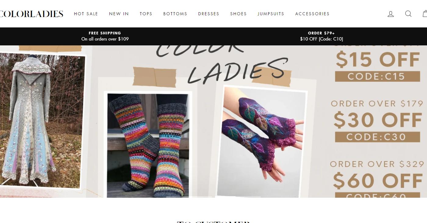 Colorladies.com Homepage Image