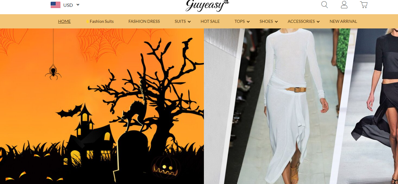 Guyeasy.com Homepage Image