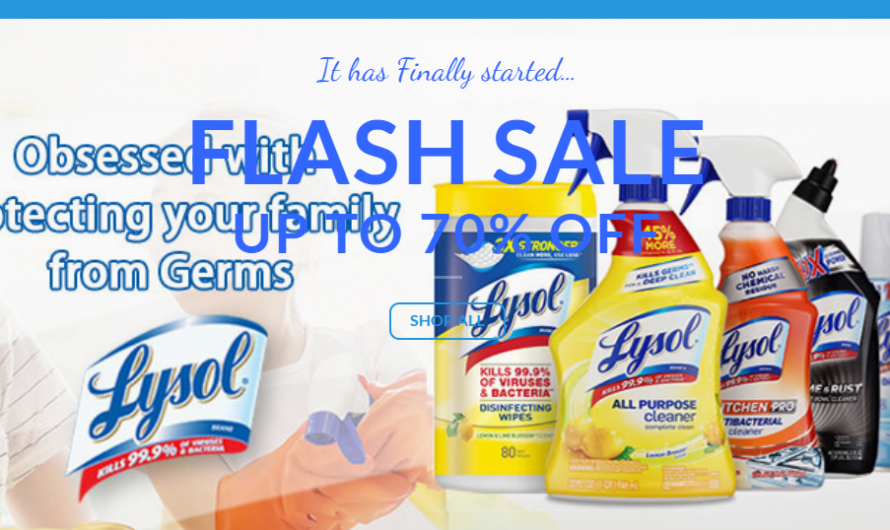 Lysolsoz.com Review: Scam Lysol Store! [REVIEWED]