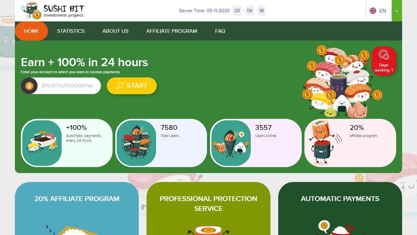 Sushibit Homepage Image