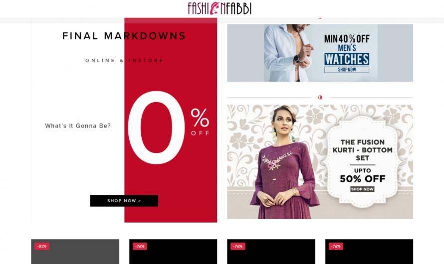 Fashionfabbi.com Review: Scam Store! [REVIEWED]