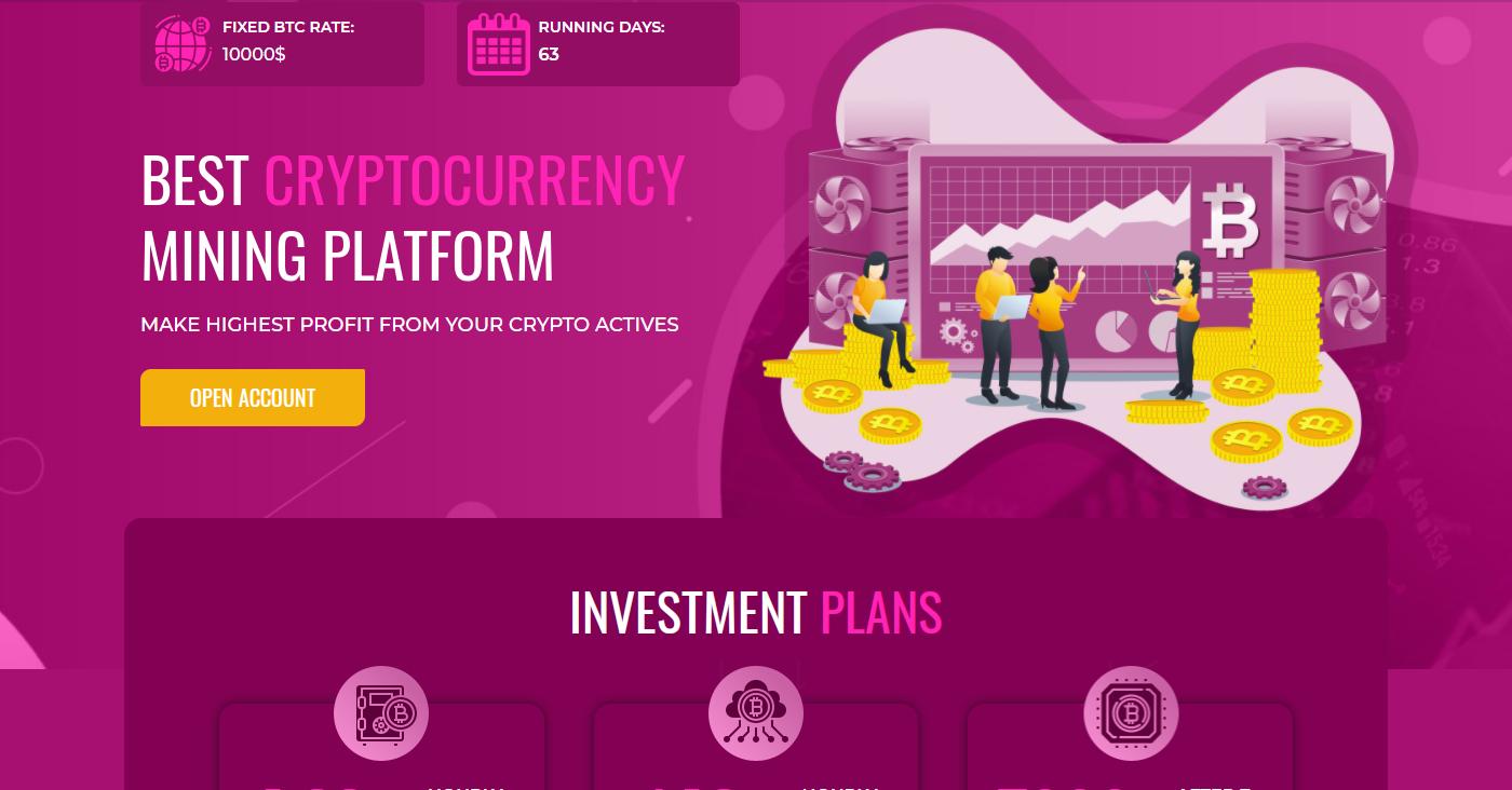 Purplemining.ltd Homepage Image