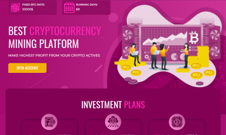 Purplemining.ltd Homepage Image