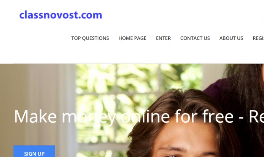 Classnovost.com Reviews: Scam Make Money Online Site!