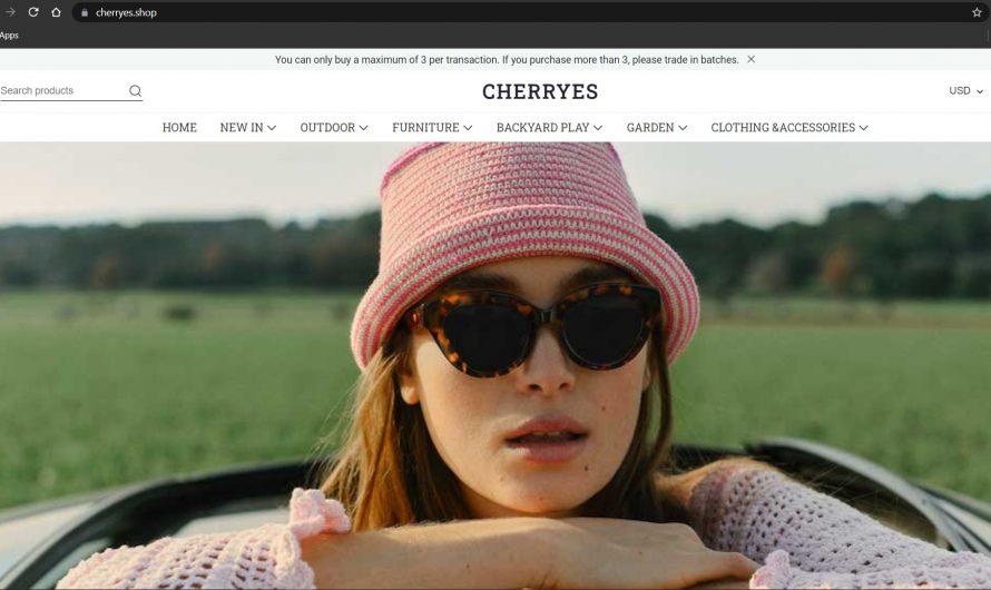 Cherryes Review: Cherryes.com Scam or Legit Online Store?