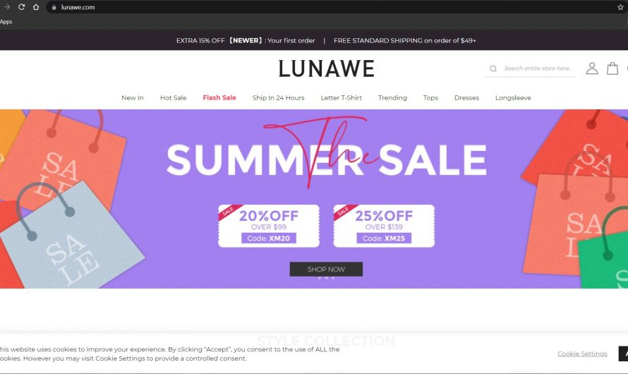 Lunawe Reviews: Lunawe.com, Genuine or Scam Online Store?