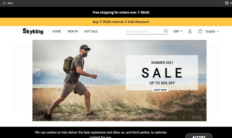 Skyklog.com Review: Is this a Legit or Scam Online Store?