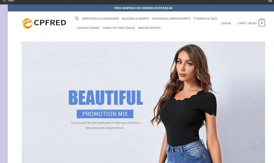 Cpfred Review: Is Cpfred.com a Legit or Scam Online Store?
