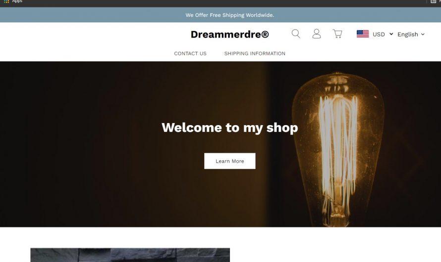 Dreammerdre Review: Dreammerdre.com Scam or Legit Online Store?