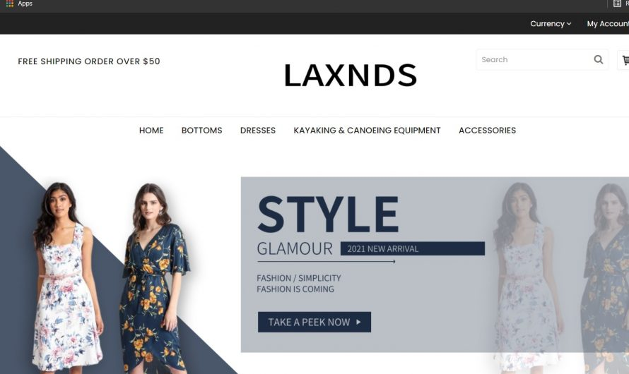 Laxnds.com Review: Scam Online Store Detected?