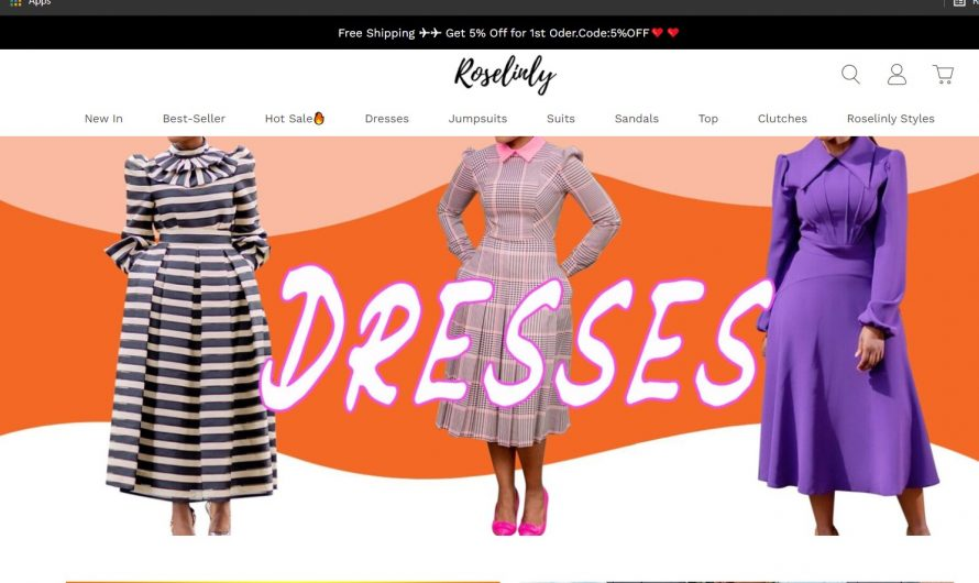 Roselinly.com Review: Scam Online Store Detected?
