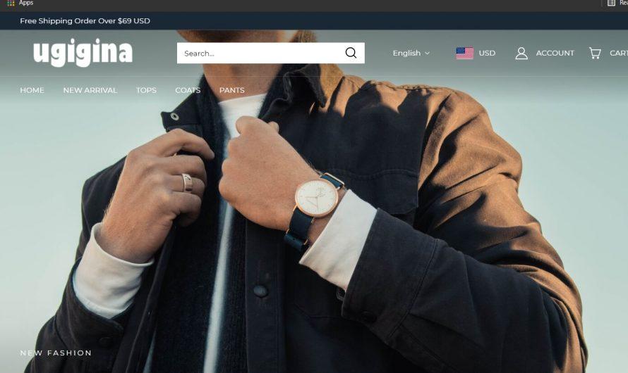 Ugigina Review: Is Ugigina.com a Scam or Legit Online Store?