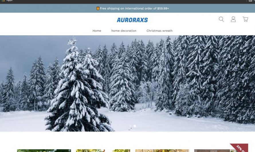 Auroraxs Review: Auroraxs.com Scam or Legit Online Store?